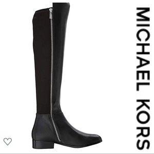 💕SALE💕 Michael Kors Black Bromley Flat Boots